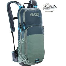 EVOC CC - Mochila bicicleta - 10l + Bladder 2l Azul petróleo